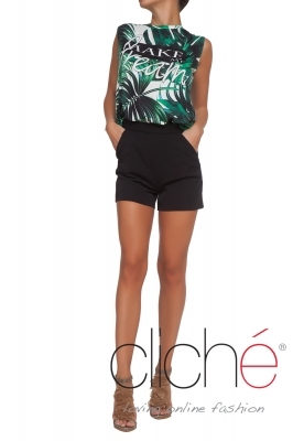 """Palm Leaves"" Top"
