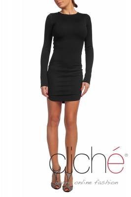 Black dress with longsleeves