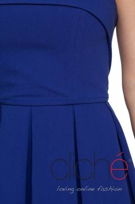 Cocktail dress in blue