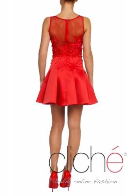 Official mini red dress