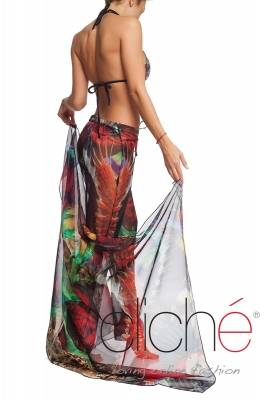 "Beach pants with print ""Jungle"""
