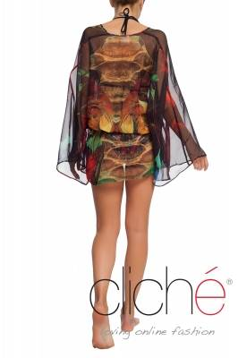 "Beach tunic "" Jungle"""