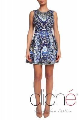 "Frilles dress ""Blue"""
