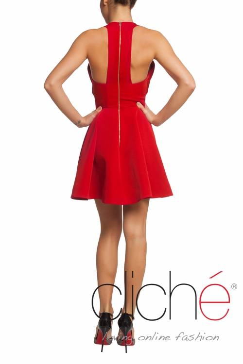 Cocktail red dress Cliche Reborn