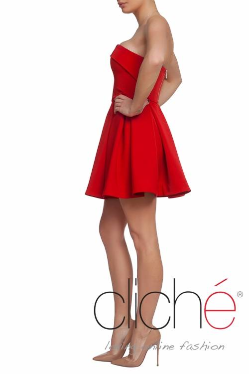 Official minidress in red