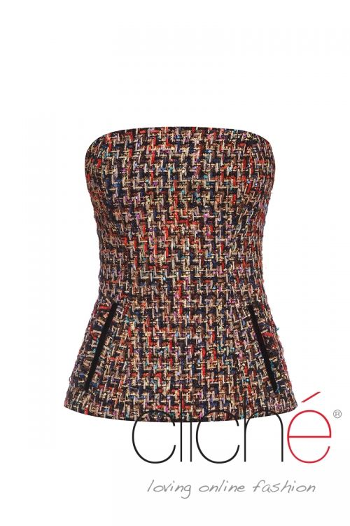Boucle winter top