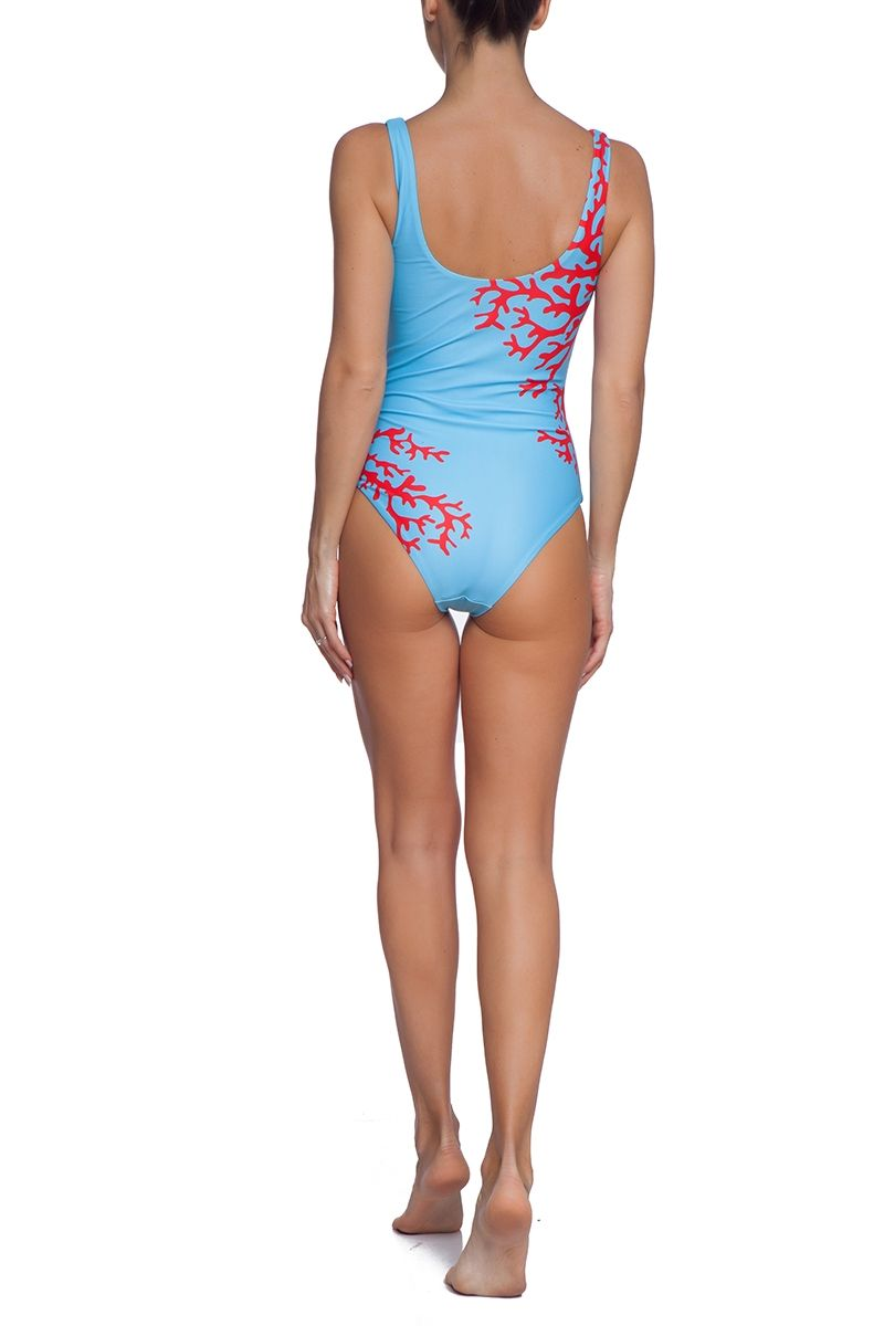 Blue Coral one piece swimsuit