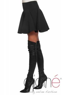 Black neopren skirt