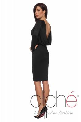 Reversible black dress