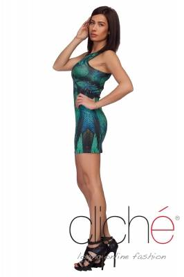 Dress  with green print