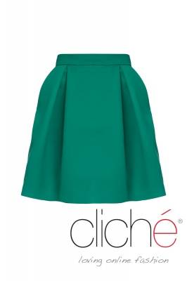Tulip skirt in green