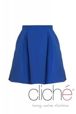 Tulip skirt in blue
