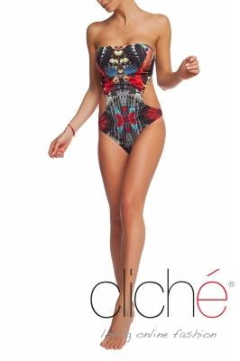"Cut out swimsuit ""Jungle"""