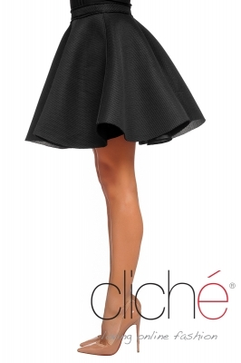 Platted neopren skirt