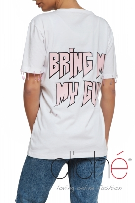"""Bring me my gun"" Oversized T-shirt"