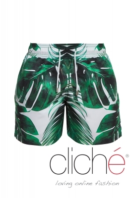 "Men beachshorts ""Palm leaves"""