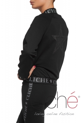 Logo bomber with a star
