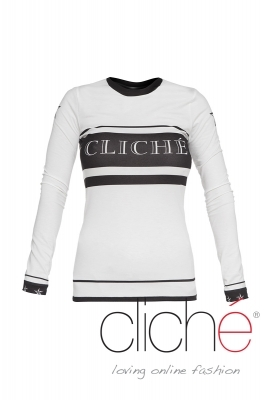 "Long sleeved blouse ""Cliche"""