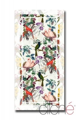 Beach towel Eden Garden