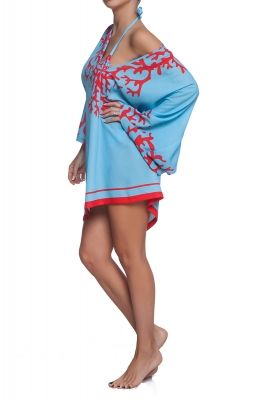 Blue Coral beach tunic