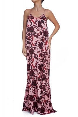Desert Rose maxi beach dress