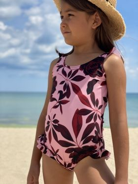 Girl swimsuit Desert Rose