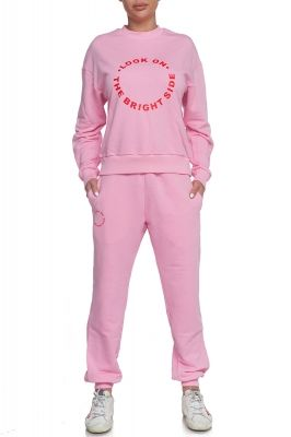 Tracksuit Bride side in baby pink