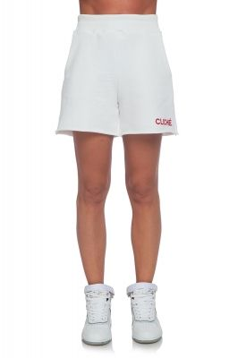 White ladies' shorts